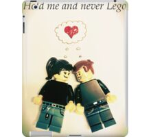 Never Lego iPad Case/Skin