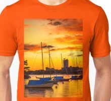 Anchored in gold Unisex T-Shirt