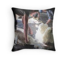 The Shearer & The Rouseabout - TTV Throw Pillow