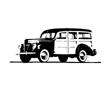 Ford V8 Deluxe Station Wagon 1940 by garts