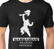 Barbarian Inverted Unisex T-Shirt