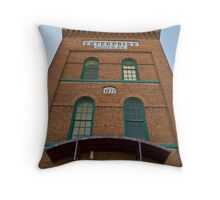 Enterprise Manufacturing Company Tower Throw Pillow