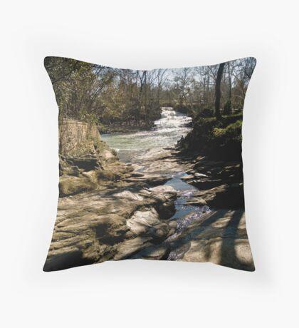 Aqueduct Park, Augusta Georgia Throw Pillow