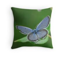 quietly open Throw Pillow
