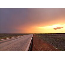 Open Highway Photographic Print