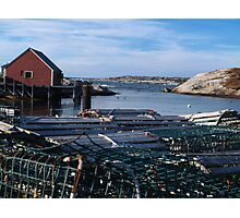Peggy's Cove Inlet Photographic Print