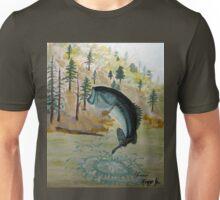 Largemouth Bass Painting Unisex T-Shirt