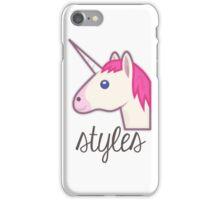 Unicorn Styles (One Direction) iPhone Case/Skin