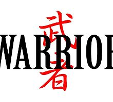 Warrior Japanese Character by freeformations