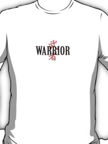 Warrior Japanese Character T-Shirt