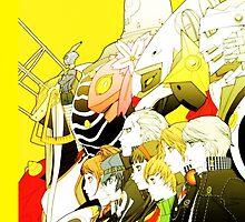 Persona 4- Never More by shinichick39