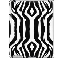 Zebra Fur Tile iPad Case/Skin