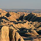 Badlands nearing Sunset by John Carpenter