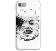A Trip to the Moon (Le Voyage Dans La Lune) - face only iPhone Case/Skin