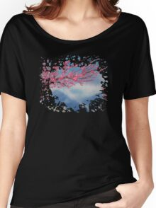 Cherry Blossom Women's Relaxed Fit T-Shirt