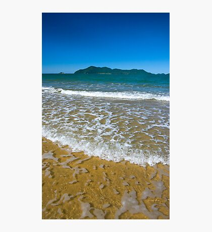 Clear water to Dunk Island Photographic Print