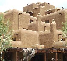 Inn at Loretto, Classic Adobe Hotel, Santa Fe, New Mexico by lenspiro