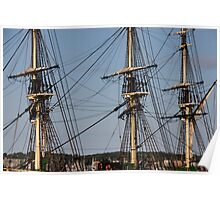 Triple Masts Poster
