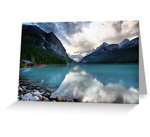 Lake Louise, Banff NP Greeting Card