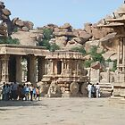 Hampi art ! by charanjitsingh chandhok