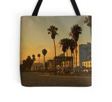 Dusk on Venice Beach, California Tote Bag