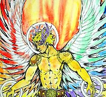 Angel Of the Spectrum by Israel Rodriguez