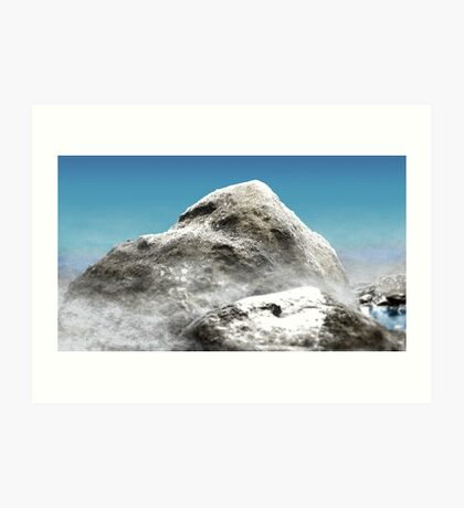 Tiny Mountain Art Print