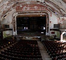 Auditorium, Norwich State Hospital by Jonathan Covington