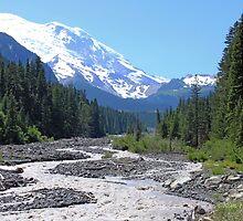 Majestic Mountains, Mt. Rainier by KHartmann