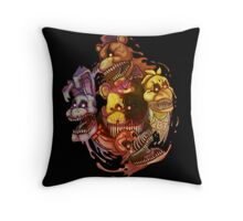 Five Nightmares of Freddy's Throw Pillow