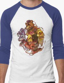 Five Nightmares of Freddy's Men's Baseball ¾ T-Shirt