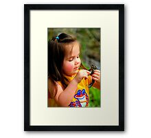 Girl Meets a Prince Framed Print