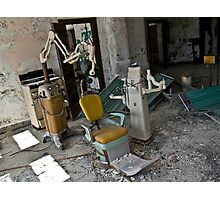Dentist Chair, Norwich State hospital Photographic Print