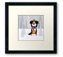 All I want for Christmas is an Australian Shepherd! Framed Print