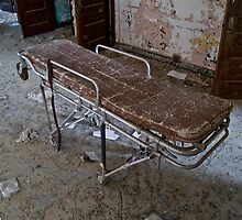 Forgotten Stretcher, Norwich State Hospital by Jonathan Covington