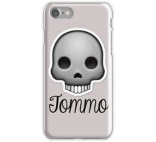 Skull Tomlinson (One Direction) iPhone Case/Skin