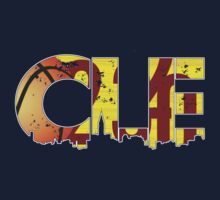 "Cleveland, Ohio ""CLE"" Cavaliers Shirts, Stickers, More by Kenneth Krolikowski"