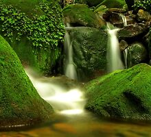 Listen...the stream of joy flows within by Prasad