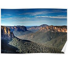 Grose Valley | Blue Mountains Australia | Govetts Leap Poster