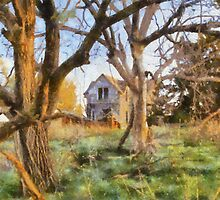 """ Old House Painted "" by JohnDSmith"