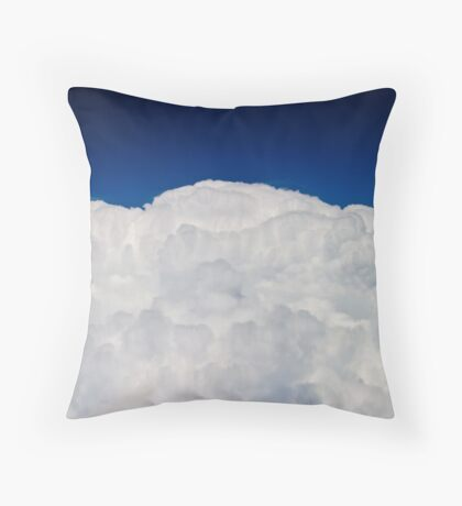Another storm over Kansas Throw Pillow