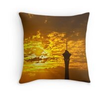 Reach up for the sunrise, Las Vegas, Nevada July 2010 Throw Pillow