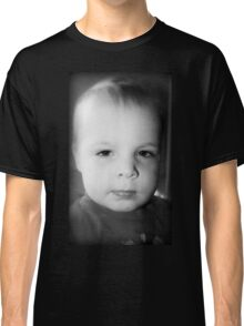 Jeremy's Portrait In Black And White Classic T-Shirt