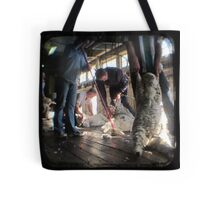 All Systems Go in the Deeargee Woolshed - TTV Tote Bag