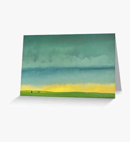 Alberta Fields Greeting Card