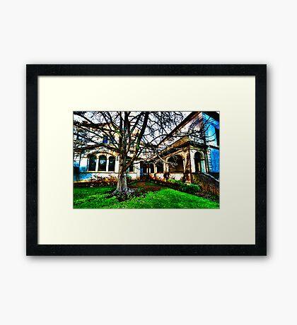 Haunted House 1 Framed Print