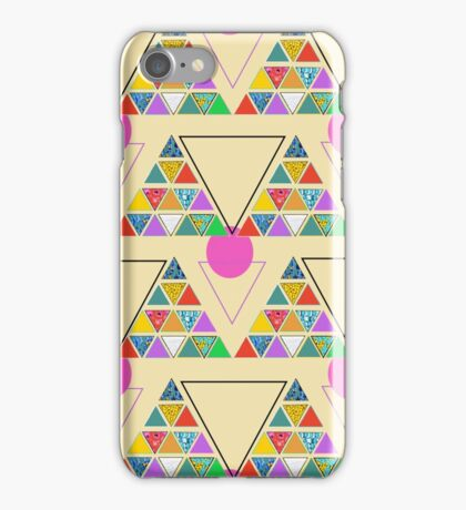 eco geometric iPhone Case/Skin