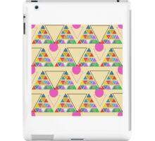 eco geometric iPad Case/Skin