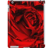 Red for the Holidays iPad Case/Skin
