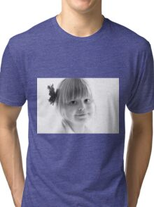 Portrait in Black And White Tri-blend T-Shirt